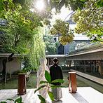 名古屋 河文:古き良きものを受け継ぐ料亭にふたりの想いを重ねた。心落ち着く和の空間で、特別な一日を叶えることに