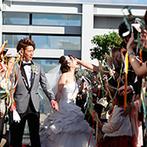 ヴェルミヨンバーグ名古屋:眺望抜群の最上階フロアを貸切にして叶える、自由なスタイルの結婚式。スタッフの熱意ある姿勢が決め手に