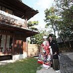 YOKKAICHI HARBOR 尾上別荘:由緒ある建物の美しい庭園、スタッフの対応、アクセスの良さ+送迎バスが出ていること。すべて気に入り即決