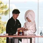 YOKKAICHI HARBOR 尾上別荘:海が見える爽やかなチャペルとバンケットに魅了。対応してくれたスタッフの人柄に惹かれこの会場に決定!