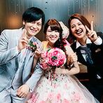 YOKKAICHI HARBOR 尾上別荘:友達のように笑顔で寄り添ってくれたプランナー達。想いを上手に引き出し、最高の一日へと導いてくれた
