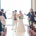 YOKKAICHI HARBOR 尾上別荘:自然光に包まれて過ごす、アットホームな結婚式をイメージできた。また食べたい!と思うほどの美食も決め手