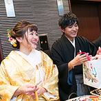YOKKAICHI HARBOR 尾上別荘:手作りは早めに始めて損はなし!先輩花嫁の画像を参考にして、完成イメージを具体的にしておくことも大切