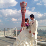 ノートルダム神戸 Notre Dame KOBE:海を望むウエディング空間で憧れの結婚式。多彩なスタイルから選べるチャペル&パーティ会場に心を奪われた