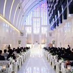 ノートルダム神戸 Notre Dame KOBE:ステンドグラスの輝きと幸せの予感に満ちた大聖堂。扉が開いた瞬間、「ここしかない!」と直感した