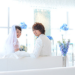 THE STYLE (ザ・スタイル):岡山のランドマークの最上階で思い出に残る結婚式を。アクセスしやすい立地やスタッフの対応も決め手