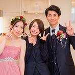 シャルマンシーナ TOKYO:ホスピタリティ精神あふれるスタッフのおもてなしに安心感。挙式・披露宴・二次会と一日楽しむことができた