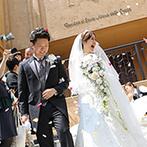 ピアザ デッレ グラツィエ:ふたりの気持ちに寄り添ってくれた親身なスタッフ、会場のアットホームな雰囲気に理想の結婚式が叶うと直感