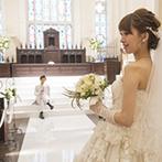 ラヴィール金沢:美の仕事にたずさわるふたりがほれ込んだ大聖堂。エレガントな空間&美食をゲストとゆったりと楽しむことに