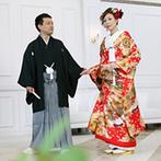 迎賓館ヴィクトリア高岡:両親にも喜ばれた和装での前撮りはおすすめ。コーディネートや衣裳など事前に調べておくといいかも
