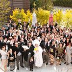 奈良町 あしびの郷:ふたりのペースに合わせて、スタッフが寄り添いながらサポート。結婚式後まで一日中楽しむことができた