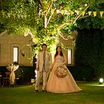 THE SALLY GARDEN (ザ サリィガーデン・旧マグリット ガーデン):ふたりも驚くような提案が続々!スペシャリスト集団がつくりだす、オリジナリティあふれる結婚式に感動