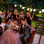 ティヌカーラ KANOYA:ジャズバンドの生演奏が、都会的なデザートパーティ!夜景きらめくガーデンで、ゲストと楽しいおしゃべりも