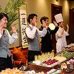 KIYOMIZU京都東山:ふたりと同じ気持ちでゲストを盛り上げてくれたプランナー&スタッフ達。ゲストへの細やかな気遣いにも感謝