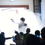 KIYOMIZU京都東山:新郎新婦の個性がそれぞれ際立つ入場シーンに大盛り上がり!ふたりらしさが伝わる演出でゲストを魅了