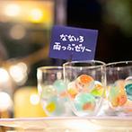 KIYOMIZU京都東山:ガーデンでのデザートビュッフェにも【雨&虹】をさりげなく表現。実家の野菜や地元の名産のコラボ料理も