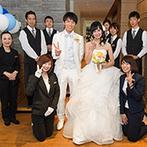 THE MARCUS SQUARE KOBE (ザ マーカススクエア 神戸):期待以上の提案の数々に感動。頼もしいプランナーに出会えたからこそ、大満足の結婚式を実現できた