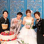THE MARCUS SQUARE KOBE (ザ マーカススクエア 神戸):ウエルカムスペースもこだわった貸切空間でのパーティ。家族へのサンクスバイトなどアットホーム