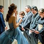 アンジェリオン オ プラザ TOKYO:お互いの心を一つにし、感謝の気持ちを表す結婚式。ふたりでがんばった分、幸せな思い出が増えていくものに