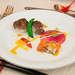 代官山 鳳鳴館:出身地の食材を使ったメニュー構成はゲストから大反響。コーディネートもふたりらしい空間創りでおもてなし