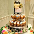 Neo Japanesque Wedding 百花籠(ひゃっかろう):ふたりらしさと新婦の憧れをギュッと詰め込んだ会場。新婦念願のケーキは、パティシエ渾身の仕上がり