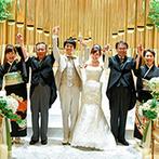 MANDARIN ALLURE(マンダリンアリュール):浜松駅徒歩5分、プライベート感溢れる貸切邸宅がふたりの心を掴んだ。温かなスタッフの人柄にふれ即決!