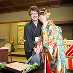 日本料理 つば甚:遠方ゲストだけではなく、地元ゲストにも喜んでもらえた料亭の会席料理。ため息が出るほど美しい器も魅力
