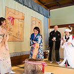 日本料理 つば甚:全員が一体となって楽しみ、会場中に笑顔が広がった!結婚式の定番ソングの替え歌で最後まで大盛り上がり