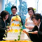 辻家庭園 ~前田家家老旧横山家迎賓館~(金沢市指定文化財):成長を見守り、どんな時も支えてくれた大切な家族だから。感謝の気持ちをあますことなく伝えた感動の披露宴