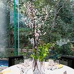 辻家庭園 ~前田家家老旧横山家迎賓館~(金沢市指定文化財):近代日本庭園の傑作を、披露宴会場から一望。美しい庭園を愛でながら、上質の料理と雰囲気でもてなすことに