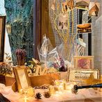 アカガネリゾート京都東山 (AKAGANE RESORT KYOTO HIGASHIYAMA):「北国からの贈り物」がテーマの結婚式。北海道にちなんだシックなコーディネートや美食にゲストも大満足!