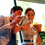 アカガネリゾート京都東山 (AKAGANE RESORT KYOTO HIGASHIYAMA):カフェ巡りが趣味のふたりらしいコーヒードリップ演出が好評。こだわりの美食とコーヒーでおもてなし
