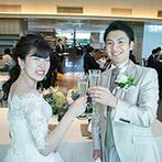 響 品川 (HIBIKI):オープンキッチンから「結ぶ」をテーマにした料理をサーブ。一日一組貸切で贅沢にゲストをおもてなし