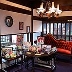 The 華紋(ザ カモン):風情漂う町並みに馴染む、大正ロマンが薫る一軒家。230年前にタイムスリップしたような非日常のひとときを