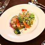 The 華紋(ザ カモン):船穂町のワイン、シェフが直接仕入れた地野菜、倉敷帆布など、地元愛の詰まったおもてなしにゲストは大喜び