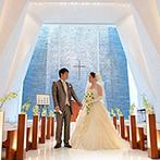 KOTOWA 京都 八坂(コトワ 京都 八坂):純白のチャペルをはじめとするバリアフリーの空間が決め手。熱意あるプランナーの提案力にも惹かれて即決!