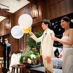 EXEX SUITES (エグゼクス・スウィーツ):サーカス風のポップな空間で、ゲストと近いカジュアルパーティ。おもてなしの料理もゲストから大好評!