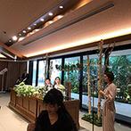 アルカンシエル luxe mariage大阪:メインイベントはプロによるサプライズ!たっぷり3曲の生歌が披露され、会場中がノリノリで大盛り上がり