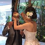 アルカンシエル luxe mariage大阪:臨機応変な対応のおかげで、思い残すことのない内容に。本番を存分に楽しめるよう、細やかに配慮してくれた