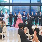 アルカンシエル luxe mariage大阪:度重なる打ち合わせにも快く応じ、親身に寄り添ってくれたプランナー。カーテンコールも最高の思い出!