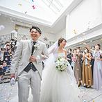 アルカンシエル luxe mariage大阪:お気に入りの会場だからこそ、引き続き二次会を行うのもおすすめ!ゲストに喜ばれる演出はぜひ取り入れて