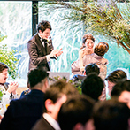 ザ ガーデンオリエンタル大阪:皆と思い出を振り返り、語り合う幸せなひと時。司会者による「ゲストエピソード」は深いヒアリングの賜物