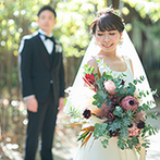 ザ ガーデンオリエンタル大阪:広大な敷地に広がる緑、木のぬくもりを感じるチャペル、新婦が夢見ていたドレス…すべてに運命を感じた!