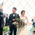 ザ ガーデンオリエンタル大阪:ファーストミートは感動的に、人前式は笑顔いっぱい!ふたりの望み通りにスタッフが明るく盛り上げてくれた