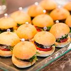 THE KIKUSUIRO NARA PARK (菊水楼):会場の名を知らしめた、和会席料理でおもてなし。タパス&海外ビールのビュッフェでカジュアルも取り入れた