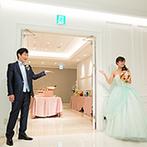 アルマリアン TOKYO:誕生日ゲストが主役のデザートビュッフェとおいしい料理。スタッフから新婦の両親へサプライズのプレートも