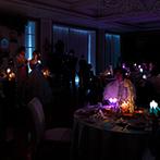 ラグナヴェール SENDAI(LAGUNAVEIL SENDAI):ふたりからつながったキャンドルの灯が幻想的な雰囲気を演出。オリジナルカクテルや料理も美味しい記憶に