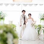 ソラノワ:仙台のランドマークの最上階で、ゲストの思い出に残る挙式を。誠実なプランナーの人柄を信頼して即決!