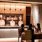 ララシャンス HIROSHIMA迎賓館:出来立ての美味しさが素早く届く、オープンキッチンの料理も大好評。すべてのスタッフが笑顔で快く対応!