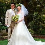 HEWITT WEDDING (ヒューイット ウエディング):アクセスの良さ&緑豊かなガーデンをかねそなえた理想のホテル。遠方ゲストのおもてなしや宿泊も安心できた